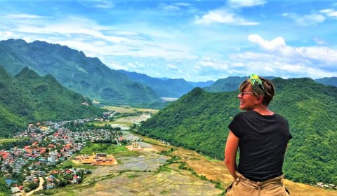 THE BEST TREKKING ROUTE OF MAI CHAI & PU LUONG RESERVE IN THE SEASON OF RICE PADDY